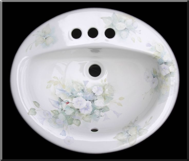 Hand Painted Bathroom Sinks