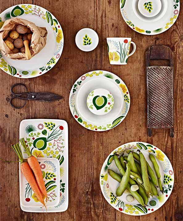 Kulinara dinnerware by Hanna Werning