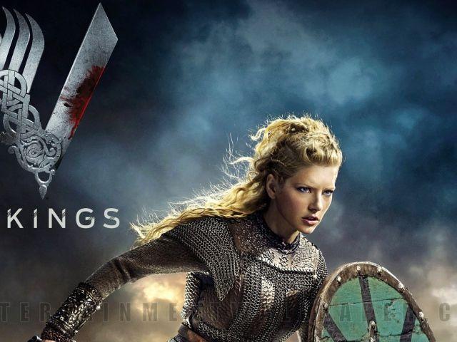 Девушка воин викинг