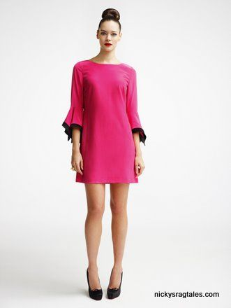 pink tunic dress - Leader of the Chorus
