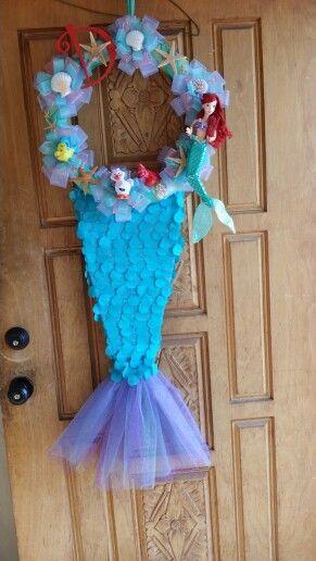 Little Mermaid Baby Baby Wreaths And Little Mermaids On