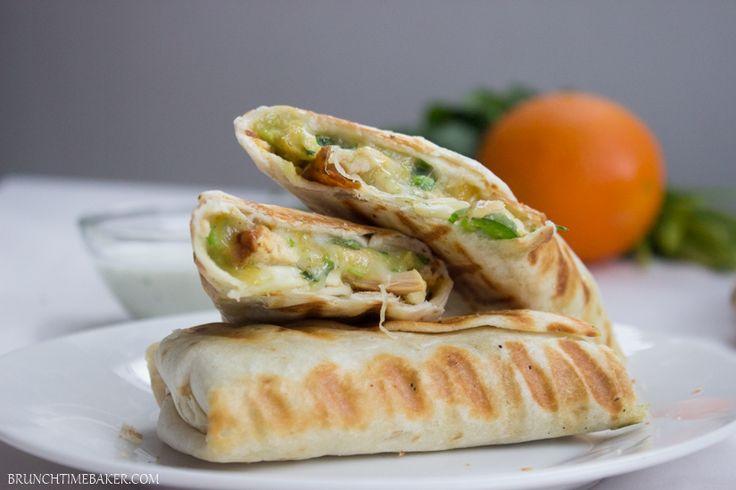 Lekker en Simpel - burrito's met kip - Lekker en Simpel