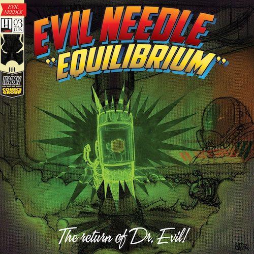 """Evil Needle – """"Equilibrium"""" (Jazzy Soulful Instrumental Beats)"""