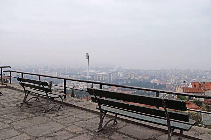 Κάστρα με ομίχλη (Kastra) στην πόλη Θεσσαλονίκη, Θεσσαλονίκη