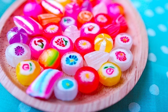 Japanese candy looks so pretty *w*
