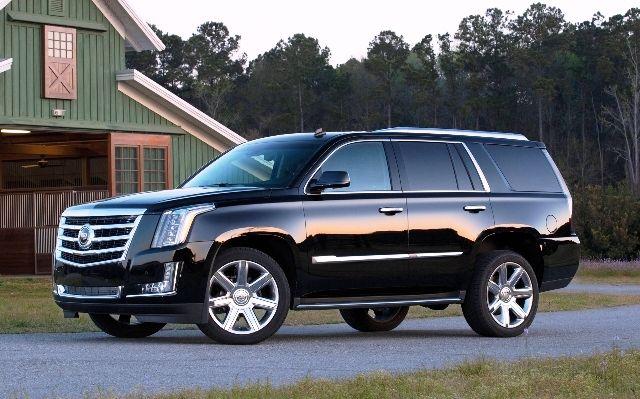 Best Third Row SUV of 2015 Cadillac Escalade