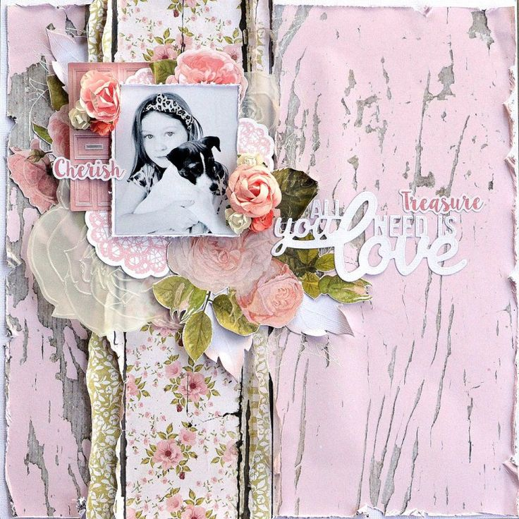 Kaisercraft - Cottage Rose - Belinda Spencer