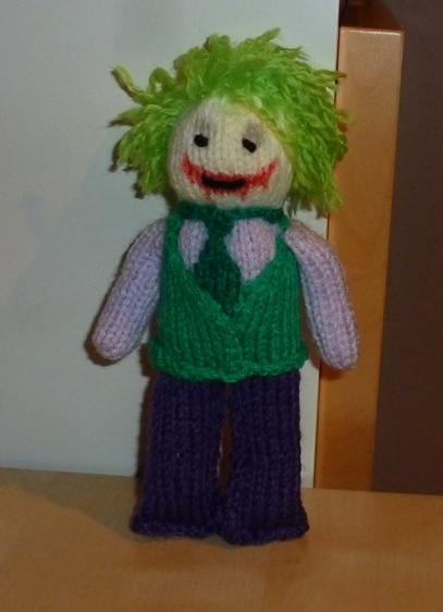 Pattern: Why so serious? - Nerd Knitting