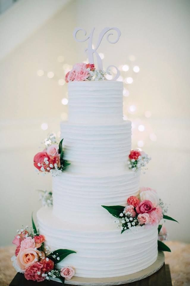 beach themed wedding cakes pinterest%0A Beautiful  white wedding cake  Absolutely love how elegant this bohemian wedding  cake is with