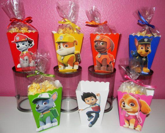 Pata de patrulla Snack cajas  Set de 10