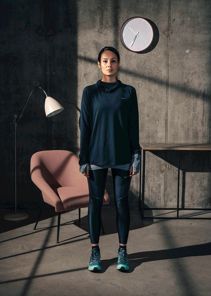 Nike Womens Style | How wearing sportswear became the new power dressing. #refinery29 http://www.refinery29.uk/nike-women-power-dressing