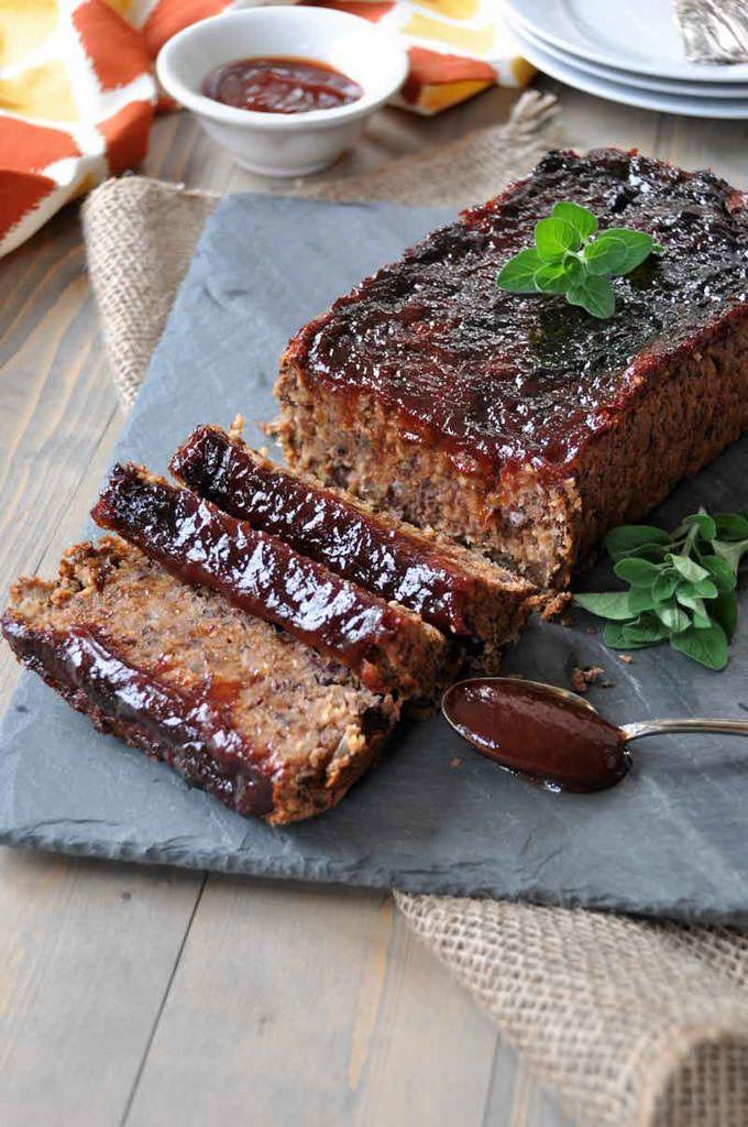 Smoky Southern-Style Meatloaf - Veganosity