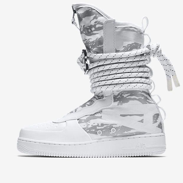Nike Sf Air Force 1 Hi Ibex Men S Boot Winter Camo Air Force 1