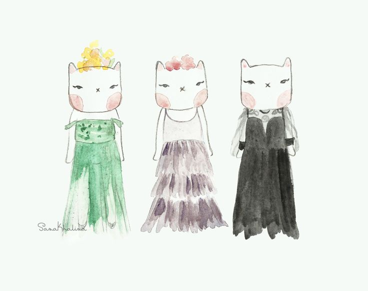 Lula in Dior Spring/Summer 2017 | fashion illustration by Sasa Khalisa