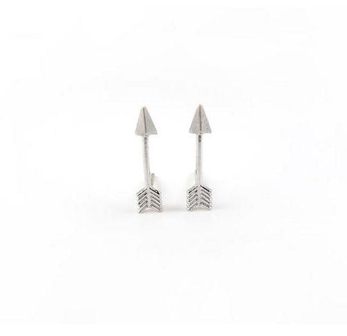 Lover's Tempo Cupid's Arrow Earrings - Silver