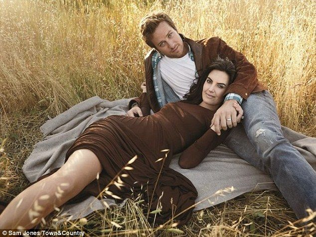 Armie Hammer reveals his love for wife of three years Elizabeth Chambers in the August issue of Town & Country magazine