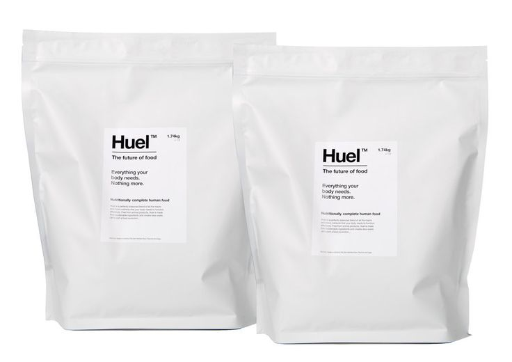 Huel the UK's leading nutritionally complete powdered food.
