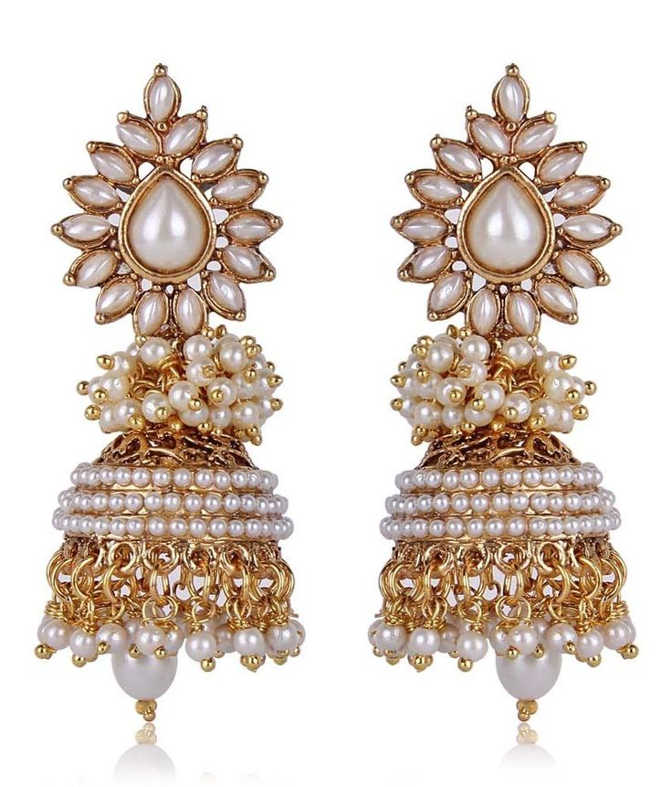 Shinningdiva Aashiqui 2 Earrings In White Color, http://www.snapdeal.com/product/shinningdiva-aashiqui-2-earrings-in/2144235528