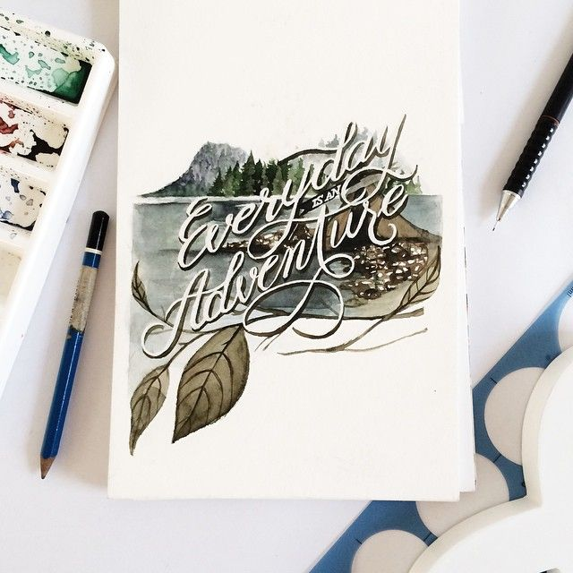 211 Best Images About Cool Hand Lettering On Pinterest