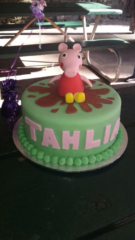 My daughter Tahlias 2nd birthday cake.