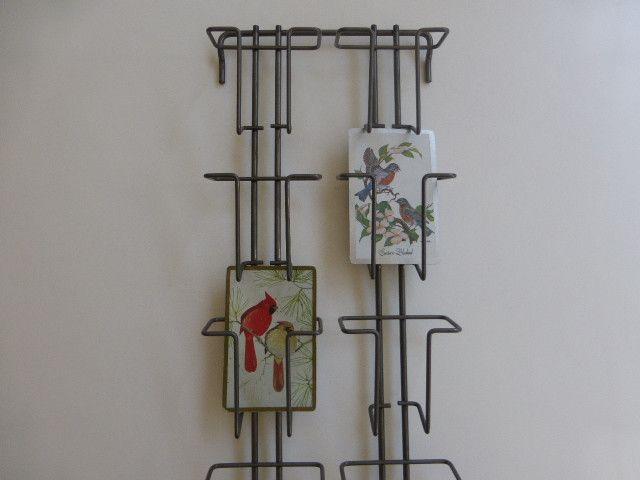 Weiteres - Kartenständer Wandleiste Wandhalter kleine Karten - ein Designerstück von flohmarkt-schaetzchen bei DaWanda
