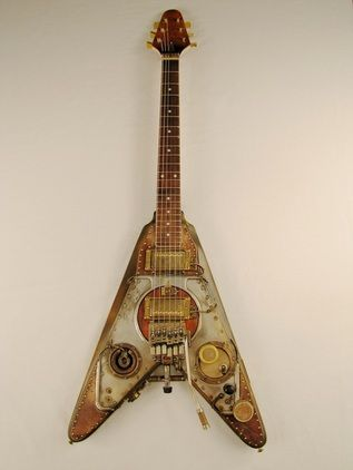 43 best guitars images on pinterest steampunk guitar musical shrike electric guitar detail photos story by tony cochran guitars for sale solutioingenieria Gallery