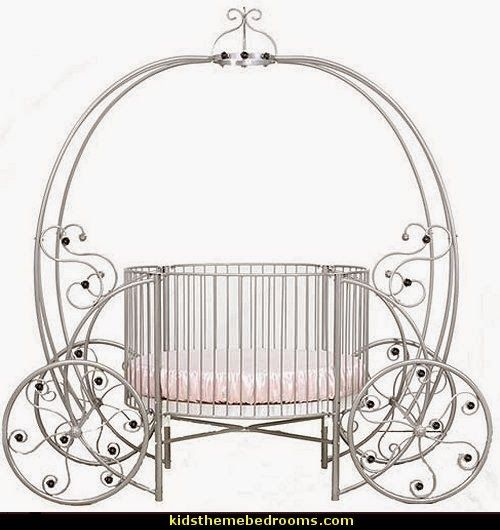 Superior Baby Cribs Cinderella | Fairytale Pumpkin Round Crib Visit Ababy Princess  Theme Section. Cinderella Carriage BedCinderella ...