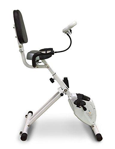 La bicicleta plegable ha frenado magnético, blanco y negro, Transmisión por correa, 8niveles de resistencia manual. Pedales con bodega pies, silla para ajustable en altura con un gran respaldo.                  Features  La bicicleta plegable a frenado magnético Pedales con bodega pies, patas aj... http://gimnasioynutricion.com/tienda/bicicletas/elipticas/halley-fitness-bicicleta-eliptica-fb100-multicolor/