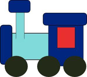 Kiddy Train clip art - vector clip art online, royalty free & public domain