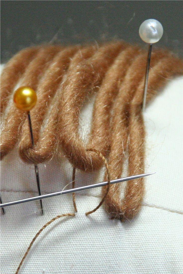 Yarn Wig Making 45