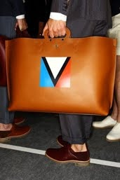 Awesome bag on S.S.A.    V logo?