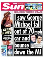 OMG what is this headline on the wood of Murdoch's Sun