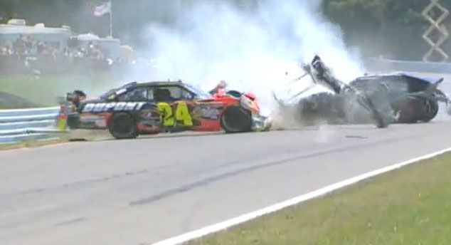 25 NASTY NASCAR CRASHES Fathers Day Gifts Discount Watches http://discountwatches.gr8.com