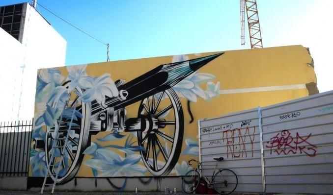 RT @vidos: magnifique hommage de #Pantonio http://bit.ly/1BJvOMI #streetart #CharlieHebdo
