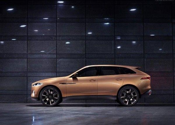 2013 Jaguar C X17 5 Seater Side 600x431 2013 Jaguar C X17 5 Seater Review, Design, with Images