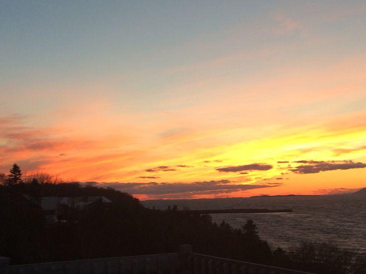 Saint-Jean-Port-Joli #couchersdesoleil #cotedusud #sunset