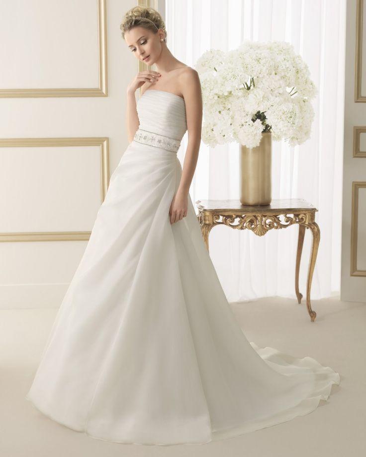 Robe de mariée Luna Novias 2014 - Modèle EFIGIE