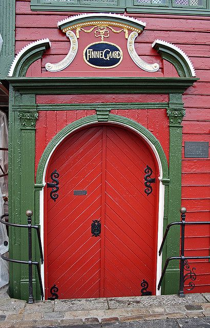 #red and stout #doors
