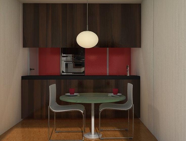Las 25 mejores ideas sobre ideas de cocina color rojo en for Comedor gris con rojo