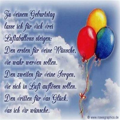 Alles gute zum Geburtstag wünschen wir dir