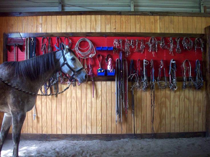 Horse Bridle Gear Storage