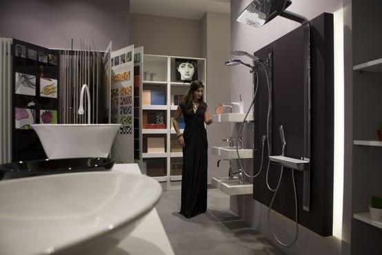 Le nuove tecnologie dal design accattivante applicate alle soluzioni da bagno.