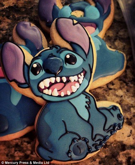 Stitch from Lilo and Stitch (left) and a selection of video games characters including Pokemon and Super Mario Brothers