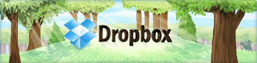 Dropbox email header