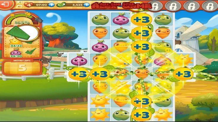 Farm Heroes Saga Level 6 Only 3 StarS (2 Place - Top List) 537%