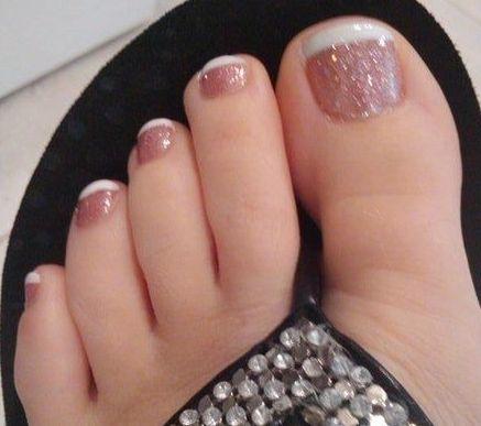 glitter frenchie