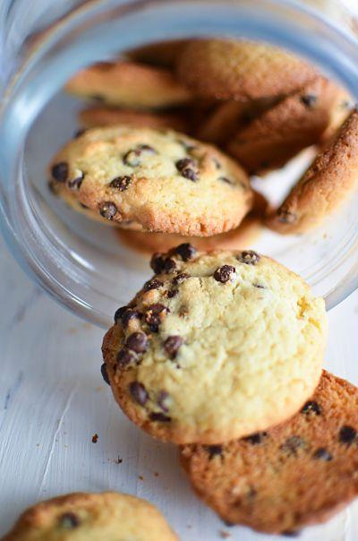 Cookies moelleux aux pépites de chocolat -avec de la maïzena  Recette - Marcia 'Tack