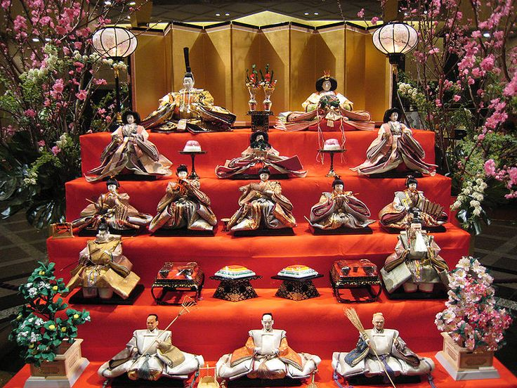 Hinamatsuri  -Japanese Girls's day (festival) March 3