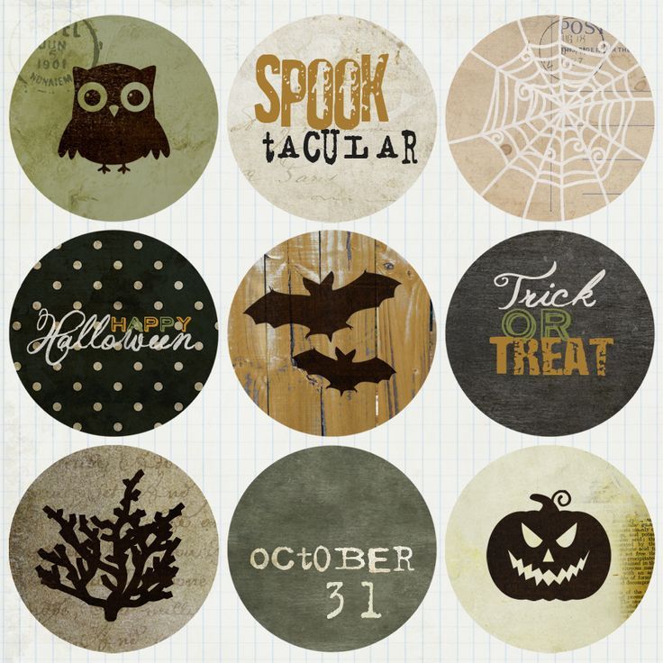 319 best Holiday Halloween images on Pinterest Holidays halloween - halloween decoration printouts