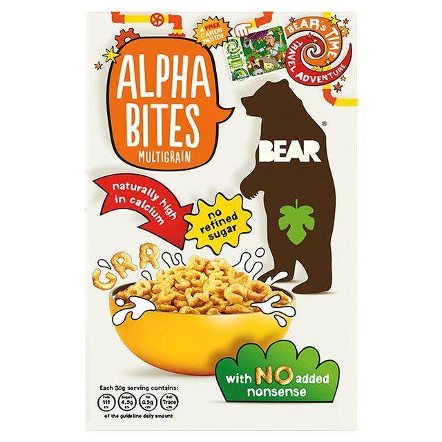 Bear Alphabites Multigrain Shapes http://www.ocado.com
